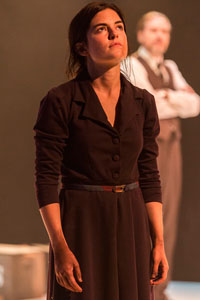 Emily James as Antigone.